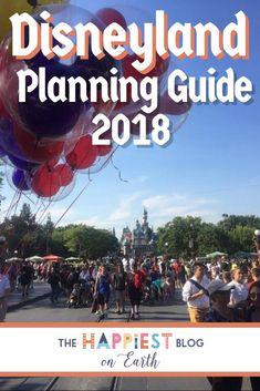 Disneyland Planning Guide 2018