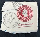 Rare George Washington Red Carmine 2 Cent US Postage Stamp Embossed Rare Stamps, Old Stamps, Vintage Stamps, Postage Stamp Art, Paper Light, Benjamin Franklin, Paper Envelopes, George Washington, Stamp Collecting