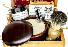 Ultimate Shaving Kit for a perfect wet classic shave!