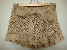 Make your own crochet shorts-finally found a pattern