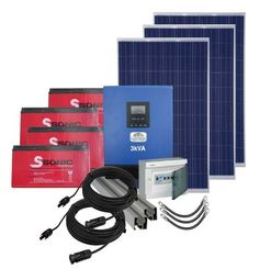 3Kva PV Power Pack (Gel & Poly) My Building, Packing, Products, Bag Packaging, Gadget