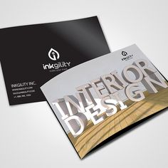 Get your product catalogues designed & printed by @inkgility today... Over 300 unique printed products such as business cards, flyers & many more