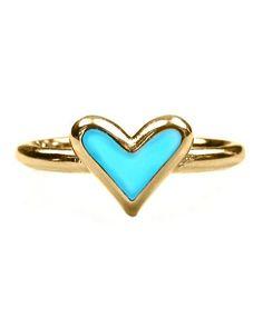 pretty heart ring