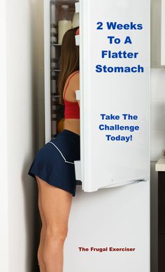 Are you trying to kickstart your lifestyle change? You want to see your stomach flatter in 2 weeks? Take my challenge and as they say flat abs are made in the kitchen first and the gym second. #weightloss