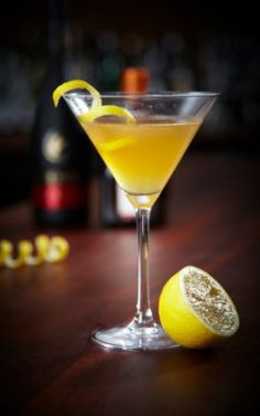 "The Bees Knees - This gin, honey and lemon cocktail gets its name from 1920s slang meaning ""the best."" #drinks #cocktails #drinkrecipes"
