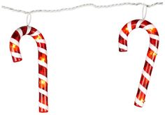 Holiday - Kurt Adler Transparent Red & White Candy Cane Light Set, 7ct $19.29 | Earn Cashback when you shop at Casa.com! Sign up with DubLi for FREE at www.downrightdealz.net and GET PAID for all your online shopping!
