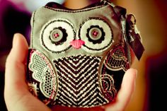 Thirty One bags - Owl coin purse