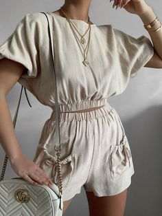 Pinterest Mode Outfits, Trendy Outfits, Summer Outfits, Fashion Outfits, Beige Outfit, Look Fashion, Trendy Fashion, Womens Fashion, Fashion Design