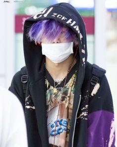 Bobby Hair purple