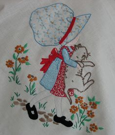 holly hobbie embroidery