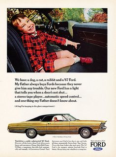 1967 Ford LTD 2-Door Hardtop Ad.
