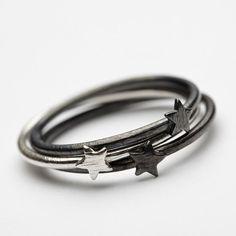 Pernille Corydon MiniStar Ring ox