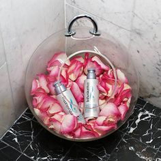 Get hair as soft as a bed of roses with Infusium 23 Moisture Replenisher Smoothing Crème.