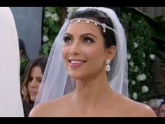 Remember this? Get Kim Kardashian's stunning #wedding make-up look with this short video tutorial.