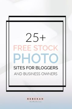 Here are 25+ free stock photo websites for bloggers and online business owners! Whether you're looking for photos for your blog or social media posts, these sites can help you find the perfect photo for your content. Click through to learn more about each