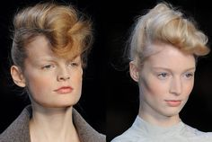 Sam McKnight created soft, boyish pompadours at Fendi. Join the talent program for the hairdressing stars of the future, led and devised by Sam McKnight. Find out more and apply here --> https://www.mastered.com/course-listings/hair-mastered-with-sam-mcknight/overview?utm_source=pinterest&utm_medium=organic&utm_campaign=hairmastered
