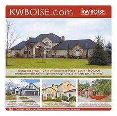 For our Boise Client's and Friends. We can assist you with any of your Idaho Real Estate needs. Call us Kendra Jenks 208-280-0754. Keller Williams Sun Valley Southern Idaho.