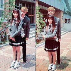 Korean Drama Funny, Watch Korean Drama, Cute Korean, Who Are You School 2015, School Uniform Outfits, Sungjae Btob, Kim Sohyun, Drama School, Netflix