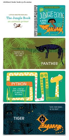 The Jungle Book, Illustrated by Alison Oliver