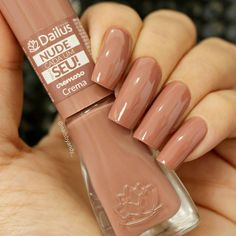 I put my nail polish like a pro! - My Nails Perfect Nails, Gorgeous Nails, Pretty Nails, Nude Nails, Manicure And Pedicure, Acrylic Nails, Minimalist Nails, Nagel Gel, Stylish Nails