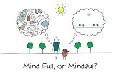 Are you mind-full or mindful? Can you relate?