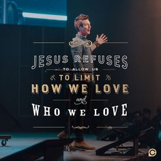 I tend to want to pick and choose who I show compassion to but Jesus has a different view on love. by pwilson