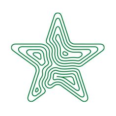 Topographic Star