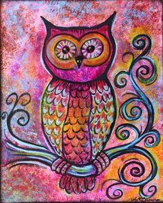 Whimsical Owl © Ann-Marie Cheung