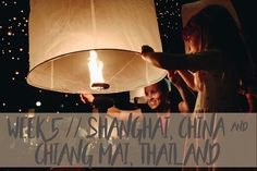Yee Peng Lantern Festival with kids in Chiang Mai, Thailand