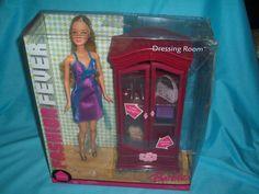 2006 Barbie - Dressing Room (Fashion Fever) #