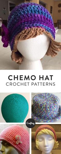 Make a handmade hat for a loved one undergoing chemo with this free crochet pattern.