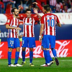 (Goles de: Ferreira Carrasco x3, Gaitán x2, Á. Correa y Tiago). Atlético Madrid 7 - 1 Granada (gol de Cuenca). / Liga Española / 15.10.2016