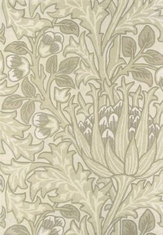Artichoke Rug A thick pile rug with silky highlights featuring stylised artichoke plants in soft natural tones.