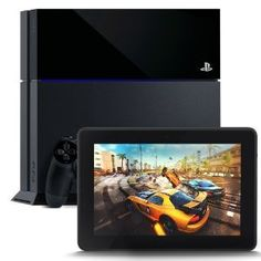 """PlayStation 4 and Kindle Fire HDX 7"""", HDX Display, Wi-Fi, 16 GB - Includes Special Offers,"""