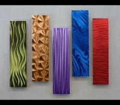 5 Easy Pieces Multi-Colored Home Wall Decor by Jon Allen