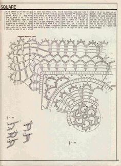 crochet square doily | Crochet and arts | Bloglovin'
