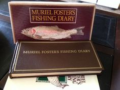 1st Edition 1st Printing Muriel Foster's Fishing Diary 1980 W/ Box & Brochure | eBay