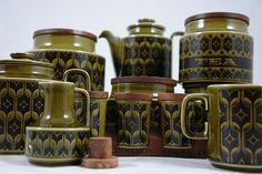 Collection of green Hornsea 'Hierloom'  LOVE!!!!