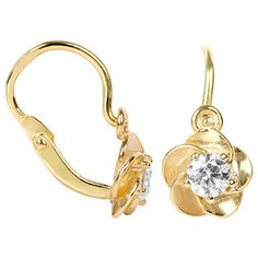 Brilio Cercei pentru copii floare cu cristale clare 236 001 00954 - 0,95 g Jewelries, Engagement Rings, Earrings, Fragrance, Enagement Rings, Ear Rings, Wedding Rings, Stud Earrings, Ear Piercings