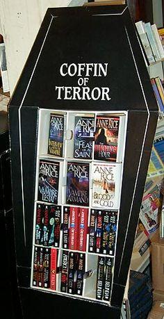 Anne Rice book display