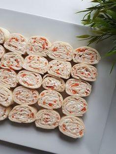 Mini wraps au surimi - Serena D. Healthy No Bake Cookies, Easy Cookie Recipes, Dessert Recipes, Brownie Recipes, Mini Desserts, Mini Appetizers, Mini Wraps, Best Chocolate Chip Cookies Recipe, Peanut Butter No Bake