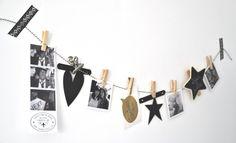 Tof DIY project voor een zwart & wit themafeestje: black & white fotoslinger zelf maken! Nu op www.socelebrate.nl.