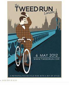 the TWEED RUN London poster