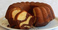 Traditional and modern Greek Recipes in english, made in Pepi's kitchen! Marble Cake, English Food, Greek Recipes, Just Desserts, Banana Bread, French Toast, Sweet Tooth, Muffin, Sweets