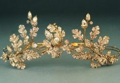Portman Diamond Tiara - this was made of individual brooches that could be put together to form a tiara