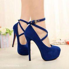Azul, azul…amo azul!