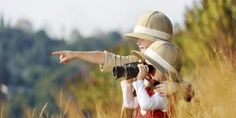 Photo about Happy young safari adventure children playing outdoors in the grass with binoculars and exploring together as brother and sister. Image of adventure, lifestyle, field - 25319602 Tanzania Safari, Safari Adventure, Family Destinations, Animation, Outdoor Play, Travel Around The World, Kids Playing, Stock Photos, Binoculars