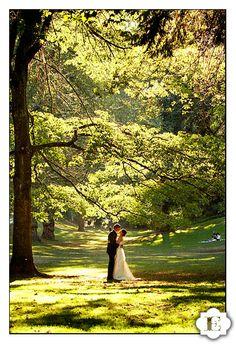 Laurelhurst Park wedding photography