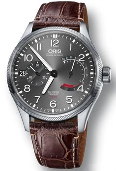 @oris  Watch Big Crown ProPilot Calibre 111 Crocodile #bezel-fixed #bracelet-strap-crocodile #case-material-steel #case-width-44mm #date-yes #delivery-timescale-call-us #description-done #dial-colour-grey #gender-mens #limited-code #luxury #movement-manual #new-product-yes #official-stockist-for-oris-watches #packaging-oris-watch-packaging #power-reserve-yes #style-dress #subcat-big-crown-propilot #supplier-model-no-01-111-7711-4163-set-1-22-72fc #warranty-oris-official-2-year-guar...