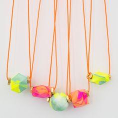 a thank you necklace DIY!
